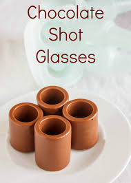 chocolate shot glasses with peanut er mousse 3