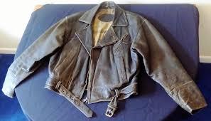 rare retro style indian motorcycles leather jacket