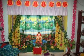 ganpati decoration ideas decoration image idea