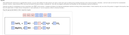 part c the steps to balancing a neutralization reaction