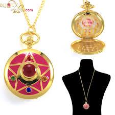 sailor moon crystal star pockech necklace