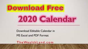 2020 Calendar With Uae Public Holidays Editable 2020 Calendar In United Arab Emirates