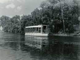 glass bottom boat travels over spring lake at aquarena springs in san marcos texas jpg