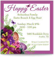Easter Invitations Cards Pingg Com