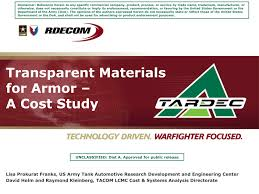 Pdf Transparent Materials For Armor A Cost Study