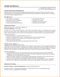 Restaurant Skills Resume Examples Best Of Free Resume Templates
