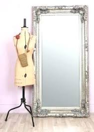 silver floor mirror. Fine Mirror Silver Standing Mirror Antique Full Length Wall Large Style  Carved Leaner In Silver Floor Mirror