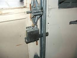 garage door slide lock. Garage Door Lock Jammed Automatic On Shark Tank Locking Slide .