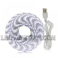 Đèn Led dây 5V 5050 màu trắng, giá rẻ, loại tốt, Ledvinhtien.com
