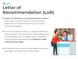 letter of recommendation how to get a