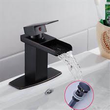 bronze bathroom fixtures. Single Lever Oil Rubbed Bronze Bathroom Sink Faucet Waterfall Vanity Mixer Tap Fixtures U