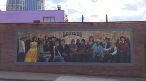 legends bar nashville downtown mural