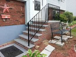 Sweet Concrete Block Stairs Decoration