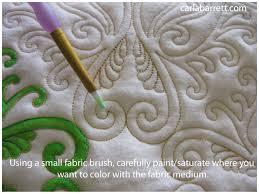 Textile Design Tutorial Inktense On Fabric Carla Barrett