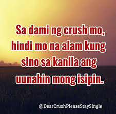Dear Crush Quotes Tagalog Quotes Of The Day
