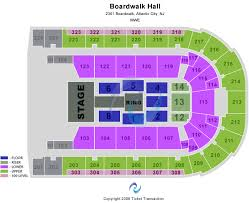 Boardwalk Hall Arena Boardwalk Hall Seating Chart