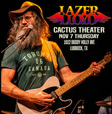 Cactus Theater Lubbock Seating Chart Lazer Lloyd Rust Belt To Red Dirt Tour Americana Roots