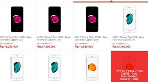 apple iphone 7 colors. daftar harga lengkap. iphone 7 apple iphone colors