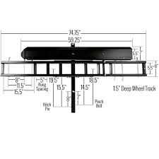carrier ramp. hitch mounted dirt bike carrier dimensions ramp