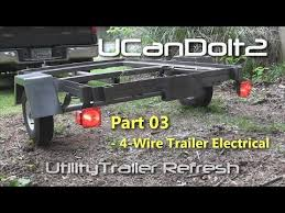 how to wire a trailer plug 7 pin diagrams shown utility trailer 03 4 pin trailer wiring and diagram