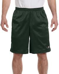 Champion 81622 Mens Mesh Short With Pockets Size Chart