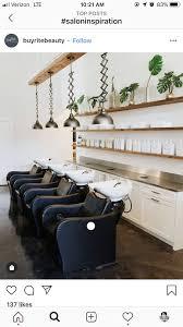 Pin by Ashley Karras on Salon insp | Saloni, Salons, Work space