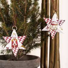 Weihnachtsstern Aus Design Papier Mit Nussknacker Motiv