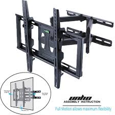 full motion tv wall mount bracket hq iso tuv 32 55 samsung sharp lg sony p5