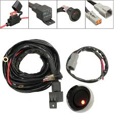 popular spotlight wiring harness buy cheap spotlight wiring 2015 new 12v 40a switch relay for 300cm wiring harness kit for led spotlights work fog