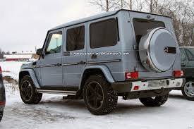 Facelifted 2013 Mercedes G-Class Along with New AMG Variants to ...