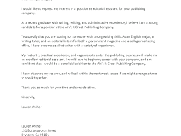 Editorial Assistant Cover Letters 10 Cover Letter For Publishing Job Cover Letter