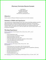 Healthcare Medical Resume Pharmacy Technician Resumes Skills
