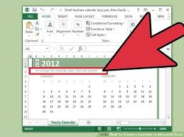 Microsoft Excel Calendar 2020 How To Create A Calendar In Microsoft Excel With Pictures