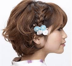 浴衣の髪型ショート自分でできる簡単なヘアアレンジ3つのポイント 年