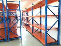 boltless medium duty storage galvanized powder coated steel long span shelving system