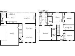 Classy Design Ideas 2 4 Bedroom Duplex Floor Plans House  Homeca4 Bedroom Duplex Floor Plans