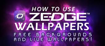 Free To Use Backgrounds How To Use Zedge Wallpapers App Free Backgrounds And Live