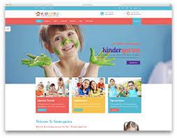 Kids School Website Template 27 Best Students Friendly School Website Templates 2019