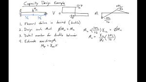 Design Capacity 1 Capacity Design Example