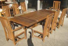 ethan allen maple dining room table and chairs