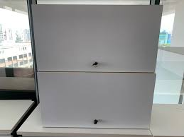 hanging wall cabinets x 2
