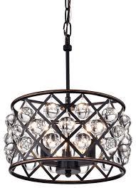 azha 3 light crystal pendant oil rubbed bronze contemporary regarding popular residence oil rubbed bronze crystal chandelier ideas