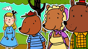 Image result for free clipart of goldilocks and the three bears