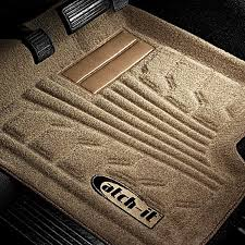 carpet mat. catch-it™ 1st row carpeted tan floor carpet mat
