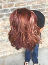 All The Fall Hair Colors Red