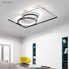 black white led chandelier acrylic iron chandeliers ceiling for living room bed room kitchen remote control lighitng fixtures green chandelier multi