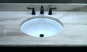 undermount sink tile countertop install