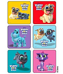 Puppy Dog Pals Disney Stickers Kids Love Stickers From Medibadge