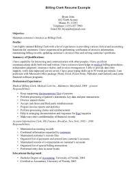 Medical Biller Job Description Resume Medical Biller Sample Resume Free Billing Templates Example 14
