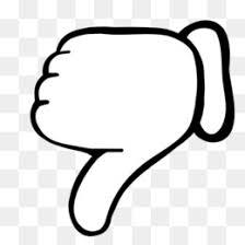 Free Download Duim Omlaag Thumb Kleurplaat Drawing Surprise Emoji Png